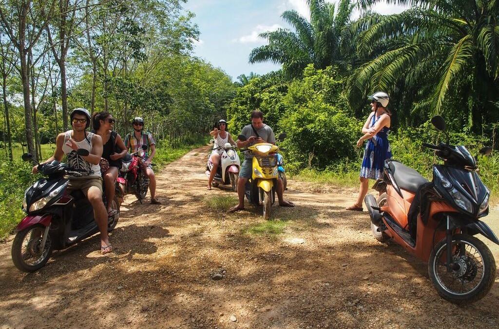 Lanta Scooter Tour - KoHub Tropical Coworking